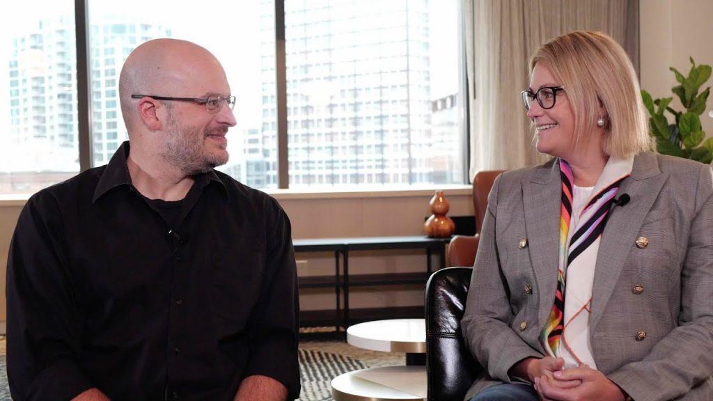Dr. Jodi Croft and Dr. Christopher Stadtherr