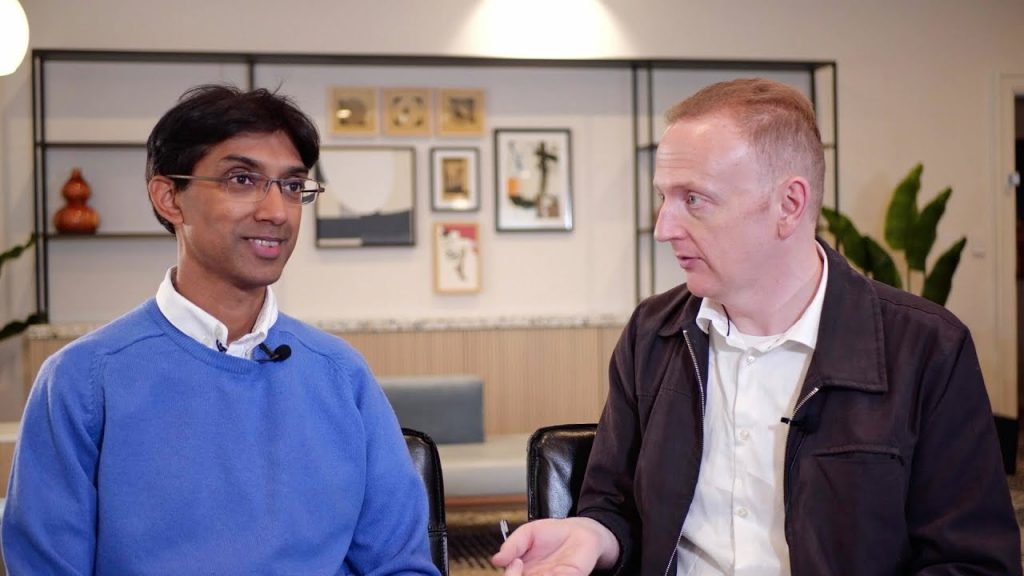 Brendan Reid and Dr. Sanjeev Balakrishnan
