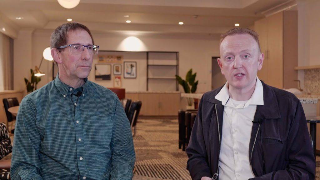 Brendan Reid and Dr. John Madany