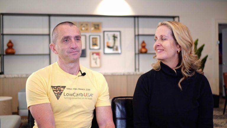 Dr. Victoria Buntine and Doug Reynolds