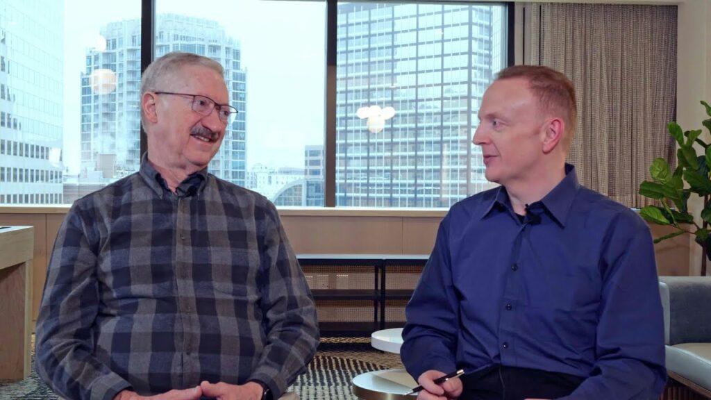 Brendan Reid and Dr. Daryl Detwiler