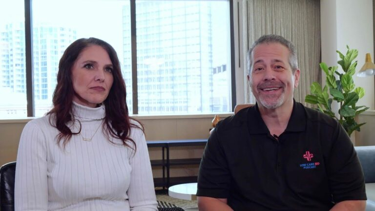 Dr. Brian Lenzkes and Lisa Cook