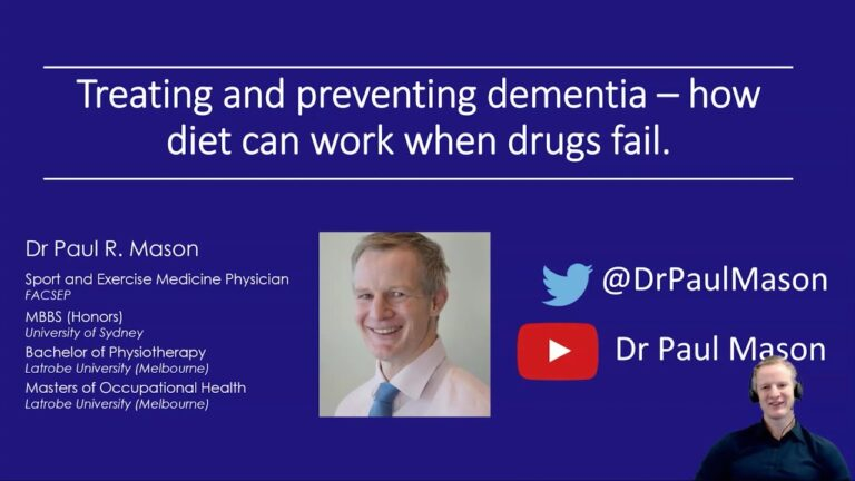 Dr. Paul Mason - 'Treating and preventing dementia